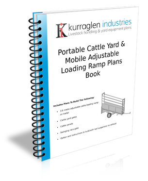 Cattle Loading Ramp 4 Metre with Sidewalk Plans Book