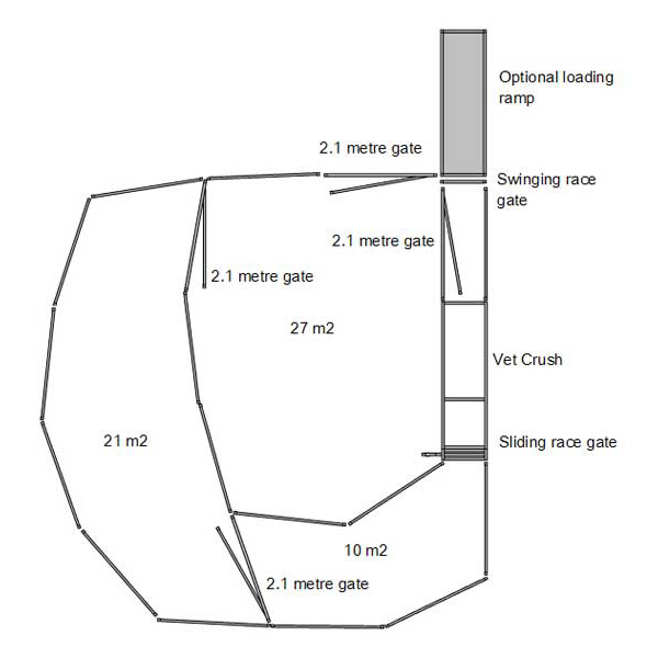 40 Head Cattle Yard Plans And Designs Free