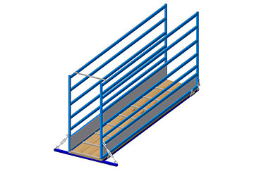 sheep and goat portable loading ramp free plans