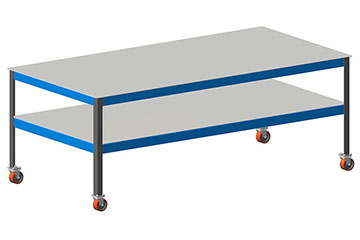 welding bench table free plans