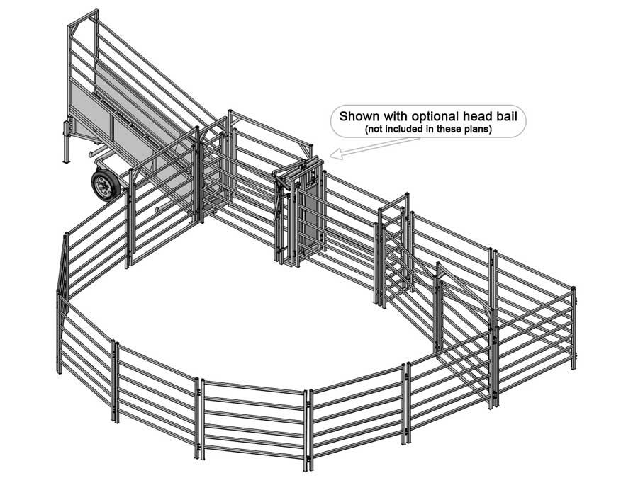 Cattle Yard Design Software