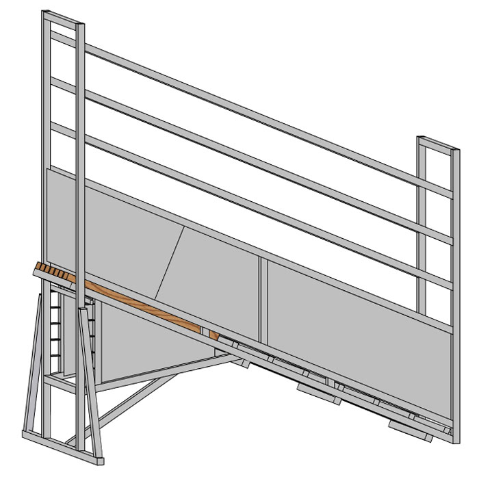 Cattle Handling Yard Equipment Plans