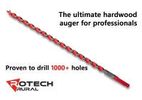 Professional Hardwood Auger Drill Bit Fencing Rotech 16, 18, 19, 25, 29 & 32mm