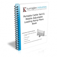 Portable Cattle Yard & Mobile Ramp Plans Book