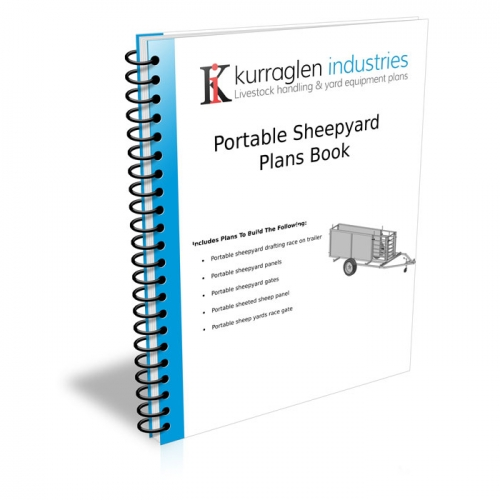 Portable Sheep Yards Draft Race on Trailer Plans Book