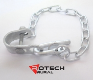Farm Gate Bolt On Latch Kit - 700mm Chain Rotech BCL700