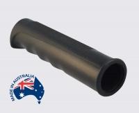 Rubber Handle Grip 1 inch 25mm Black