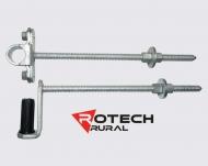 Farm Gate Bolt Thru Hinge Kit 400mm FG2
