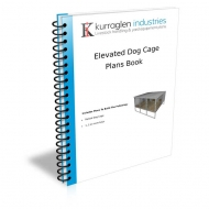 Raised Dog Kennel Plans Book