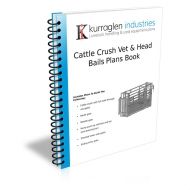 Cattle Vet Crush & Head Bails Plans Book Plus Ratchet Kit